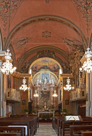 Chiesa di S.Giovanni Battista, Tremosine