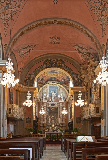 chiesa san giovanni battista tremosine