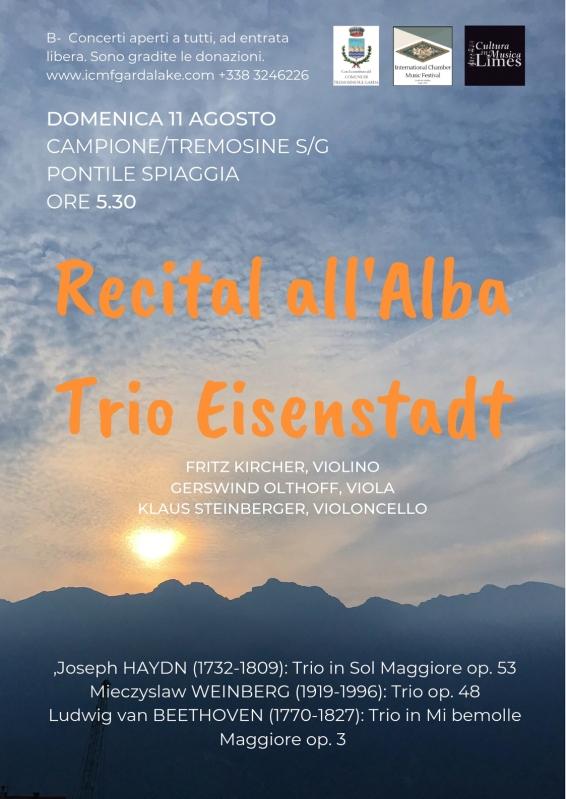 Recital all'Alba