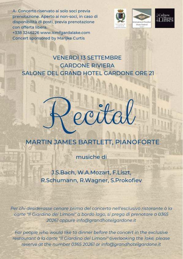 Recital Bartlett