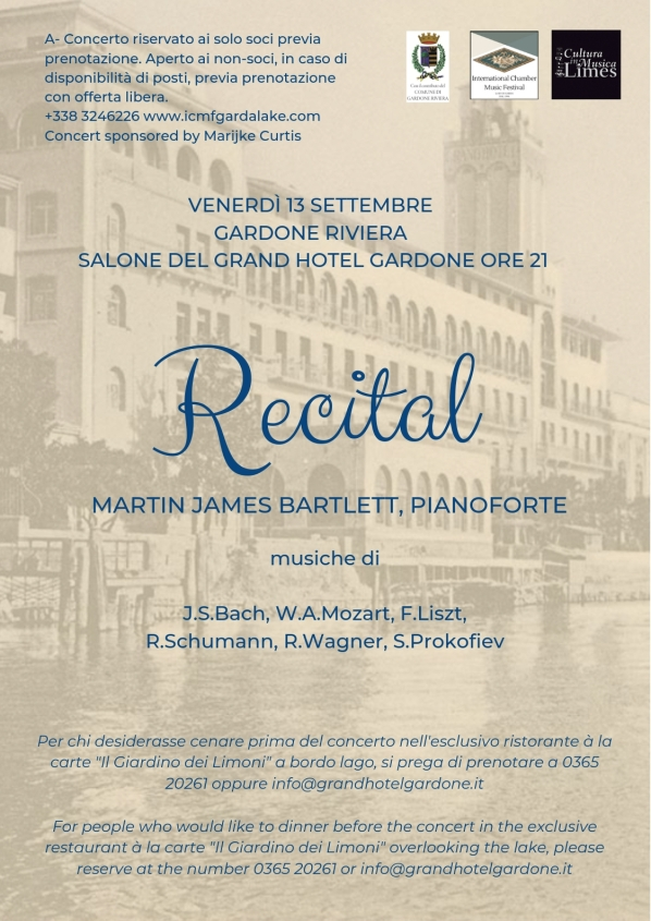 Recital Bartlett