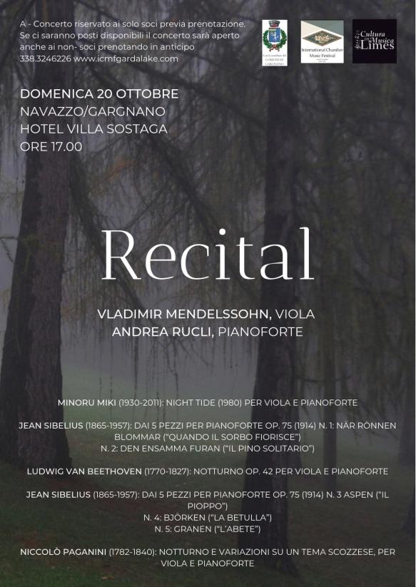 Recital Mendelssohn