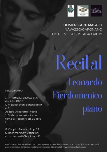 Leonardo Pierdomenico Recital